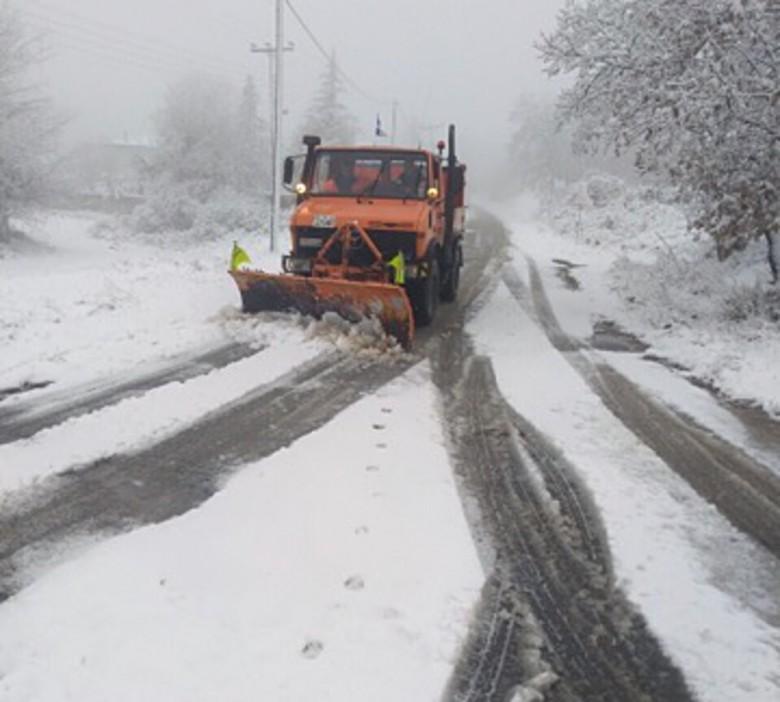 Ήπειρος:Χιόνια στα ορεινά ,καταπτώσεις και κατολισθήσεις Οδηγίες της Πολιτικής Προστασίας