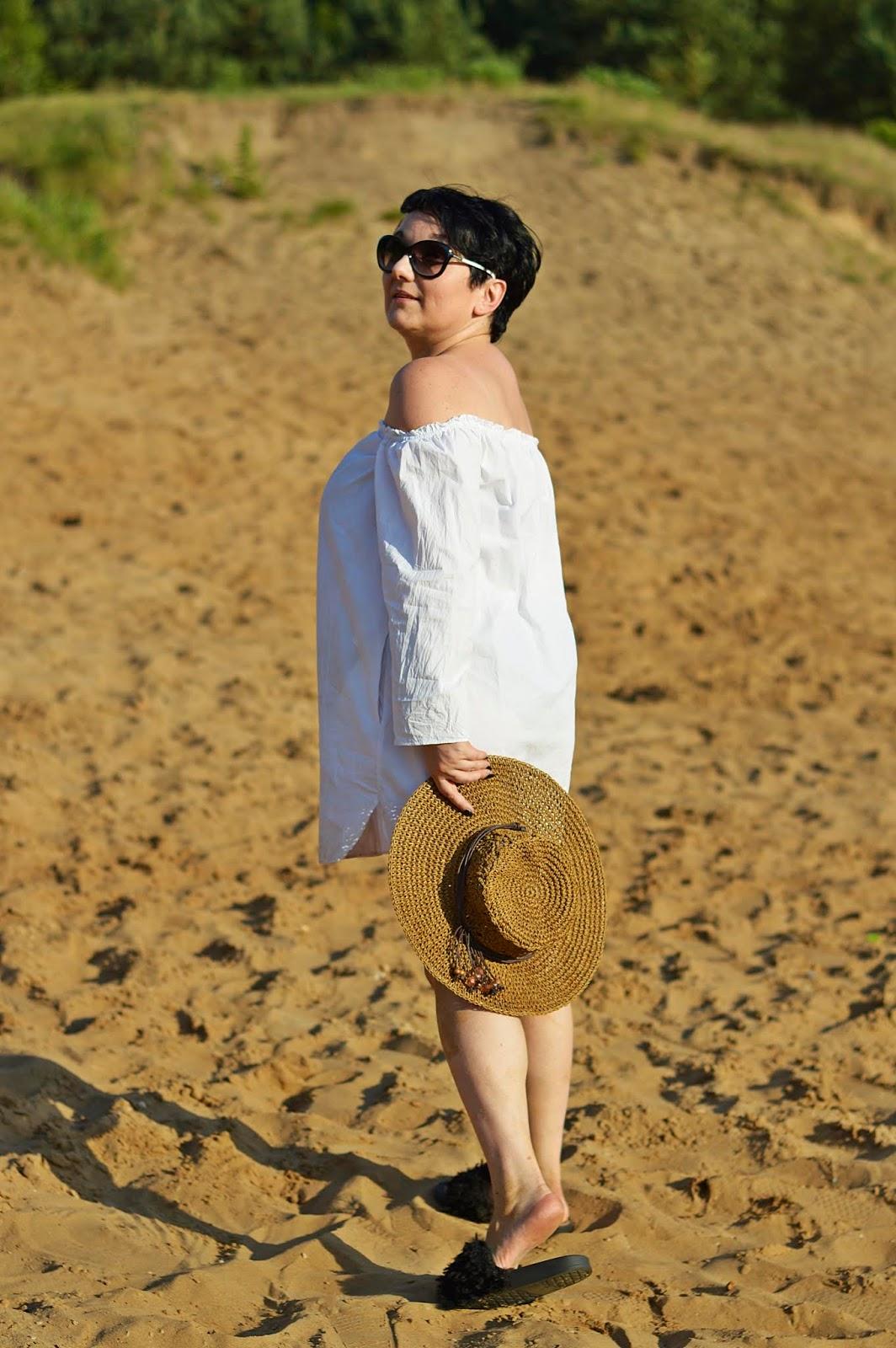 Summer look, summer 2018, hot look, white shirt, zara shirt