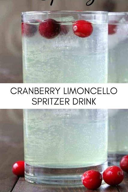 CRANBERRY LIMONCELLO SPRITZER DRINK