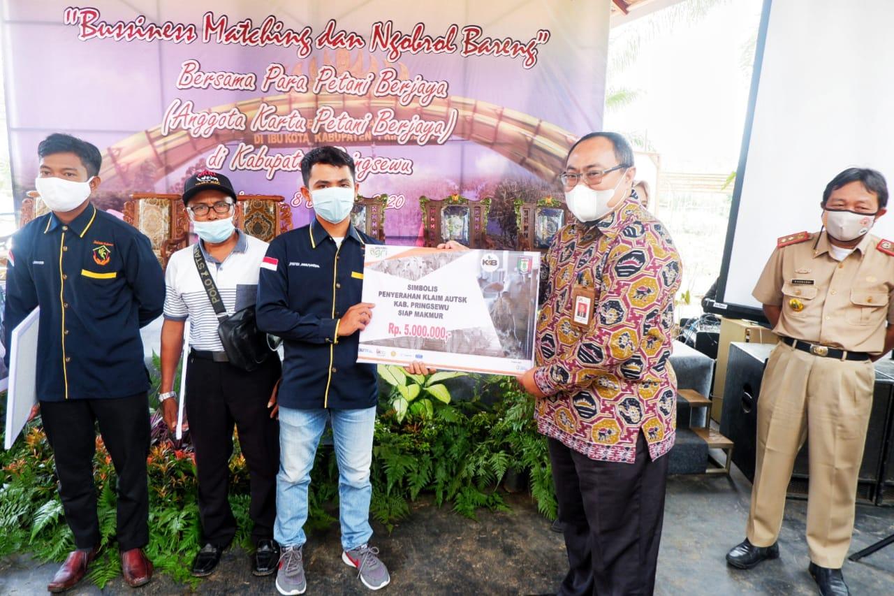 Business Matching & NgobrolBarengbersamaAnggota KartuPetani Berjaya (KPB) Kabupaten Pringsewu