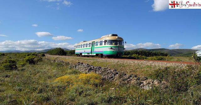 Foto Trenino Verde Sardegna con buySardinia