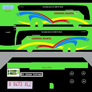 livery gunung harta hijau mod uhd by wsp mods