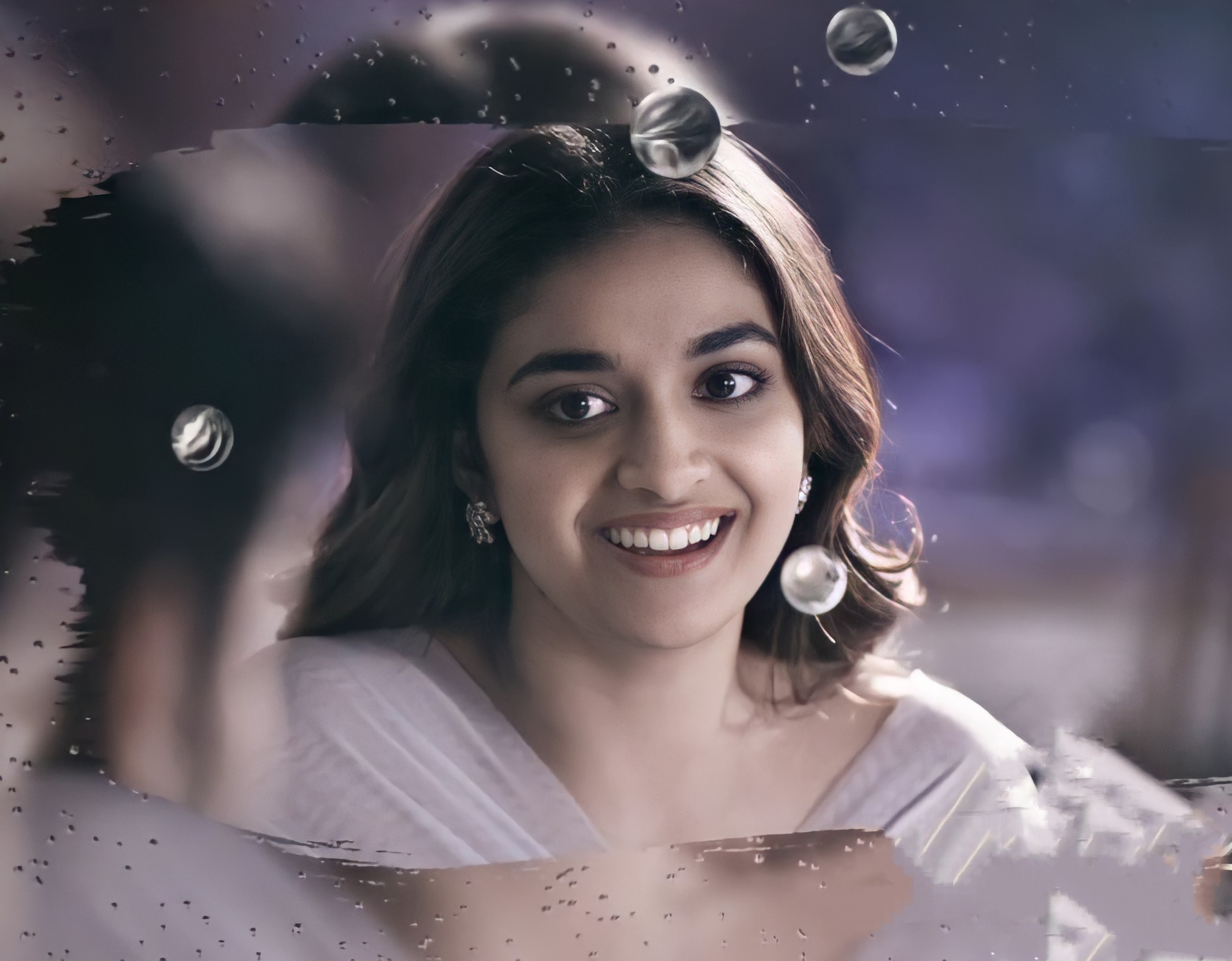 Keerthy Suresh Awesome Lovely Smile from RangDe 4