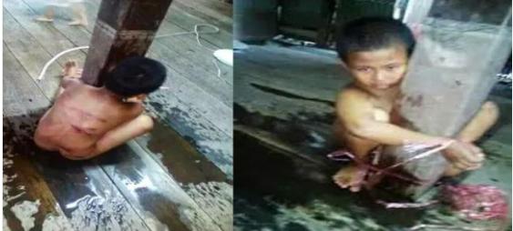 Curi Dua Buah Roti Karena Lapar, Abdul Anak Yatim ini Diikat dan Dipukul Pemilik Toko Hingga Lebam