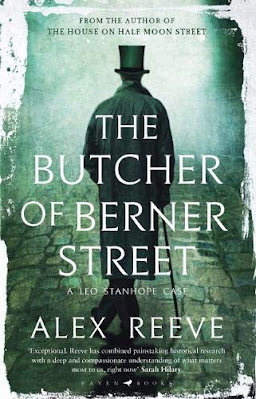 The Butcher of Berner Street by Alex Reeve book cover