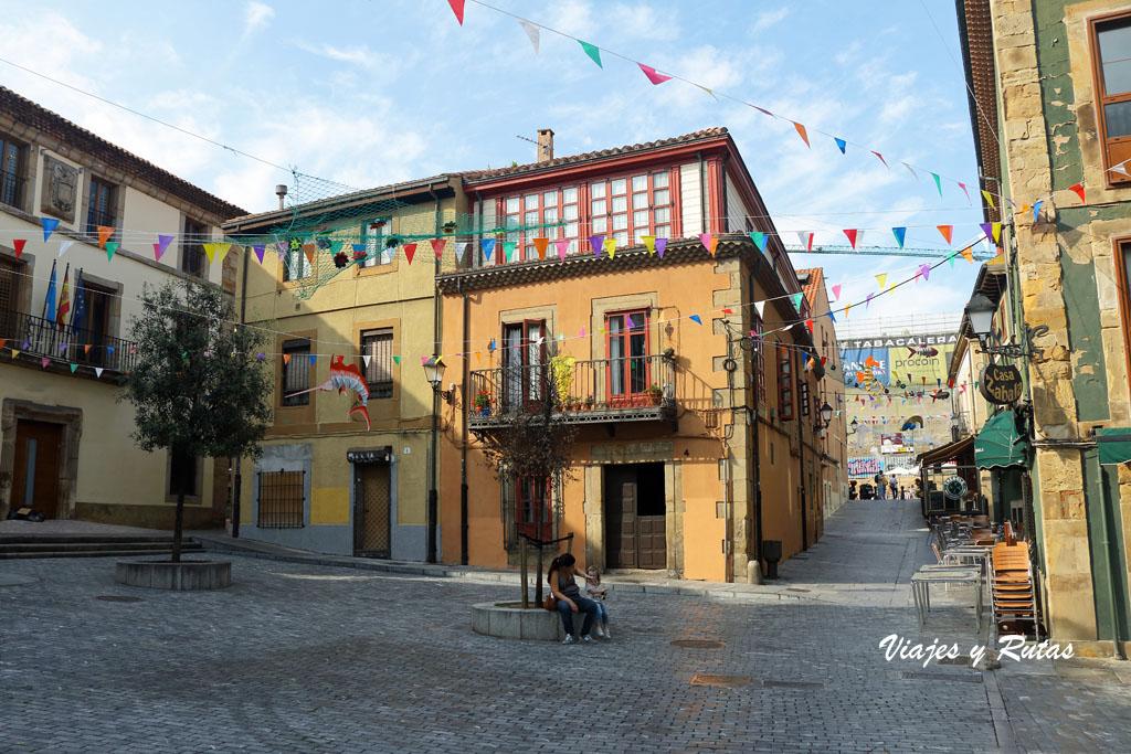 Calle recoletas, Cimadevilla, Gijón