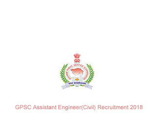 GPSC Assistant Engineer(Civil) Recruitment 2018