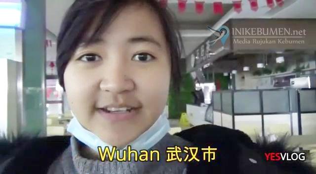 Wabah Virus Corona, Begini Kondisi Mahasiswi Asal Kebumen di Wuhan China