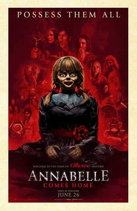 Annabelle Comes Home 2019 Hindi Dubbed 850MB HDRip 720p