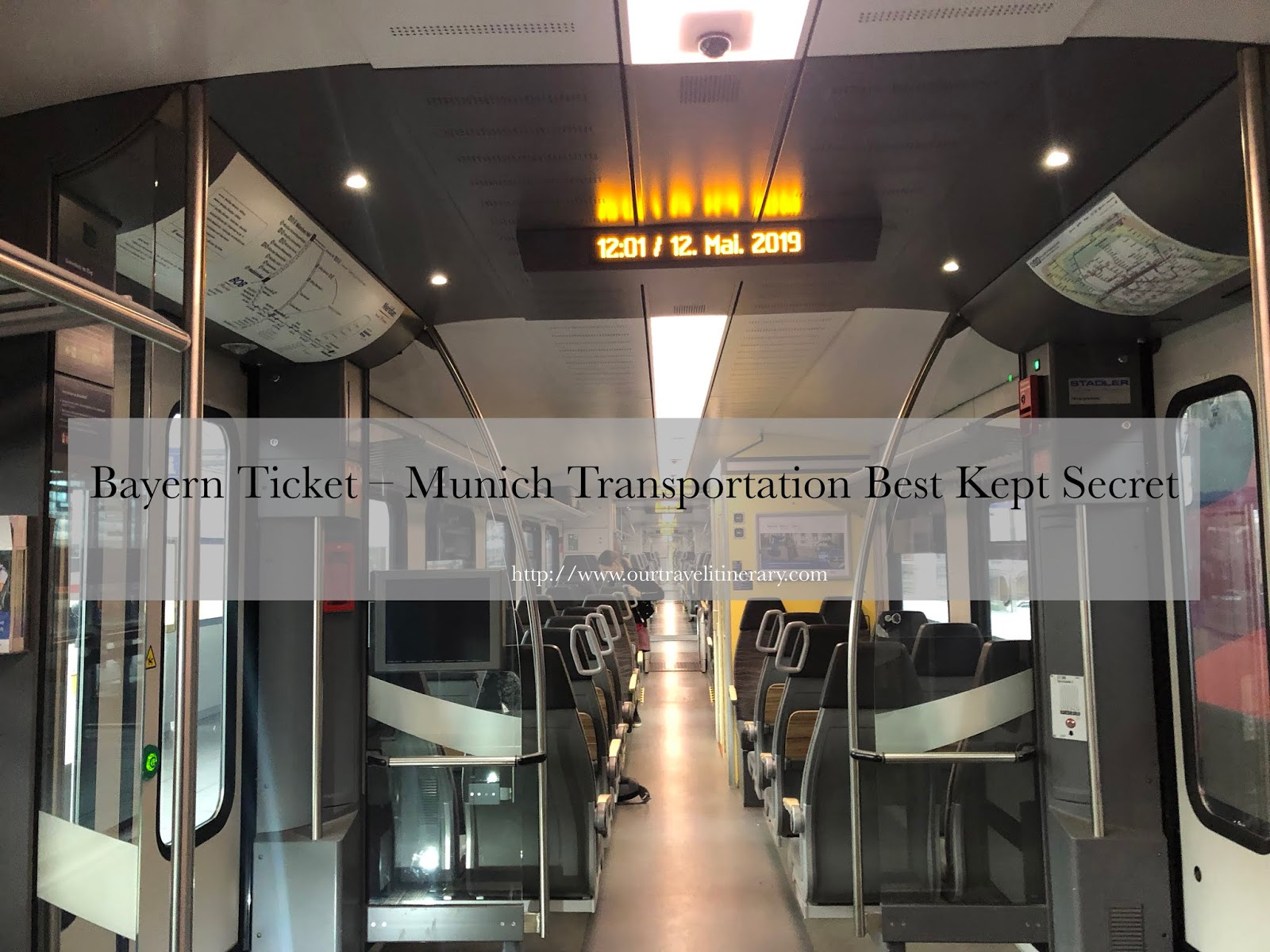 Munich Transportation , regional train, unlimited transport munich