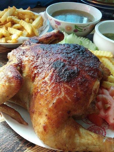 Resepi Ayam kenny Rogers Melatop