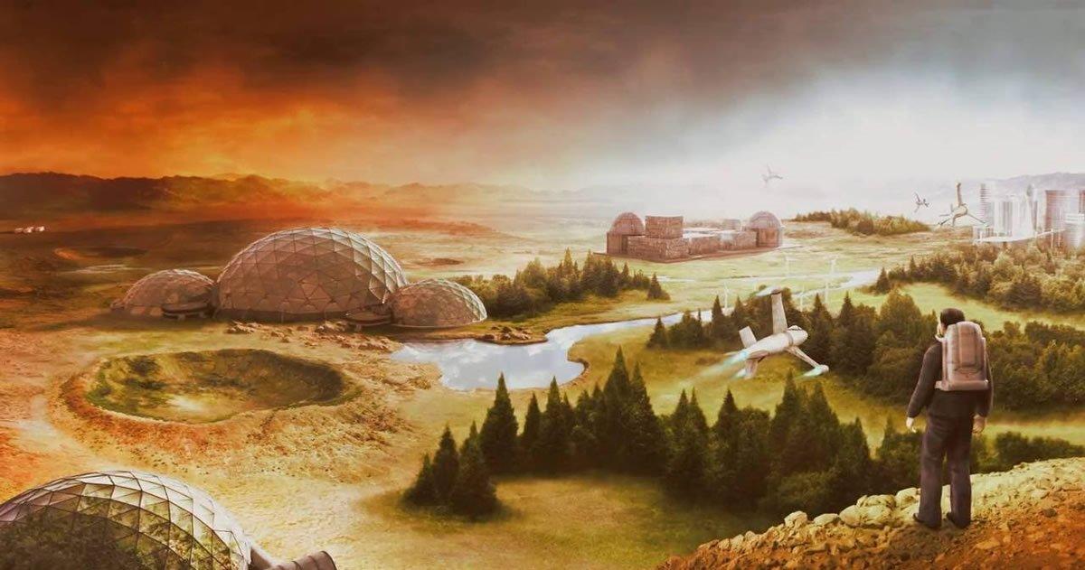 Marte podría tener una atmósfera respirable en 100.000 años