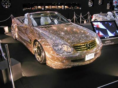 Carro em diamante - Dubai