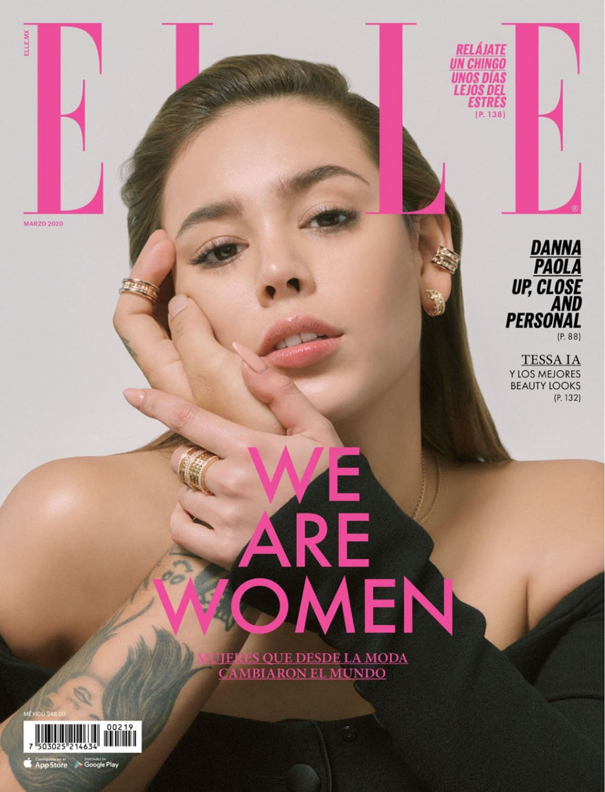 Danna Paola – Elle Mexico March 2020