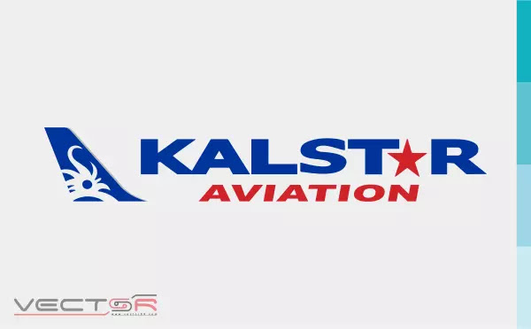 Kalstar Aviation (Horizontal) Logo - Download Vector File SVG (Scalable Vector Graphics)