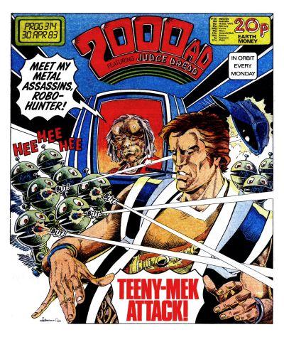 2000 AD prog 314, Robo-Hunter