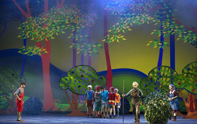 Pulgarcito, una ópera interpretada por niños del Coro del Teatro Colón
