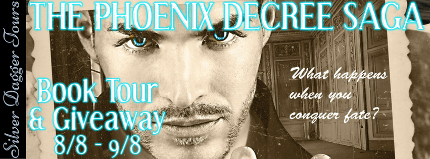 Series The Phoenix Decree Saga Author Anna Albergucci Genre Time Travel Paranormal Romance Book 1