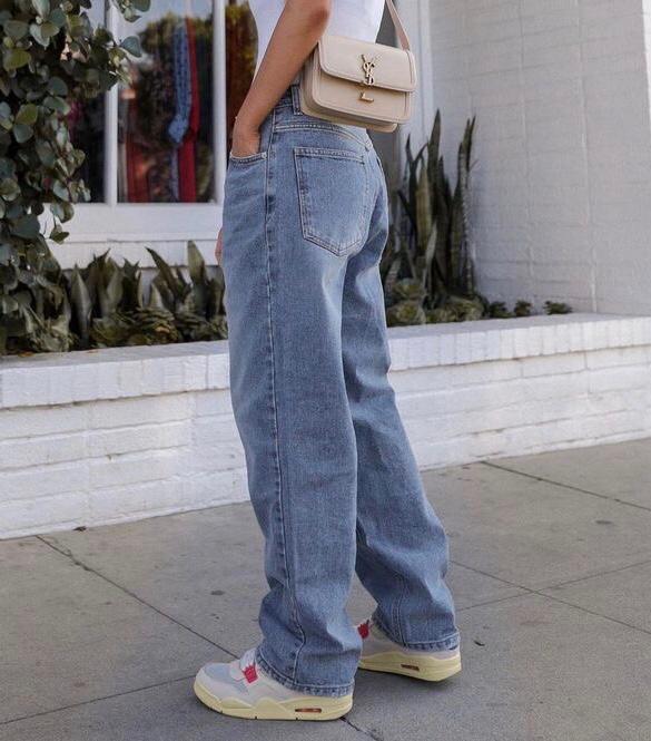 Calça Wide Leg Jeans - ideias de looks