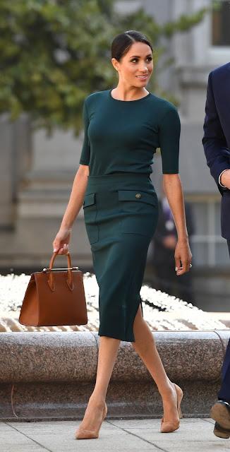 La Princesa de Sussex en un acto oficial en Irlanda