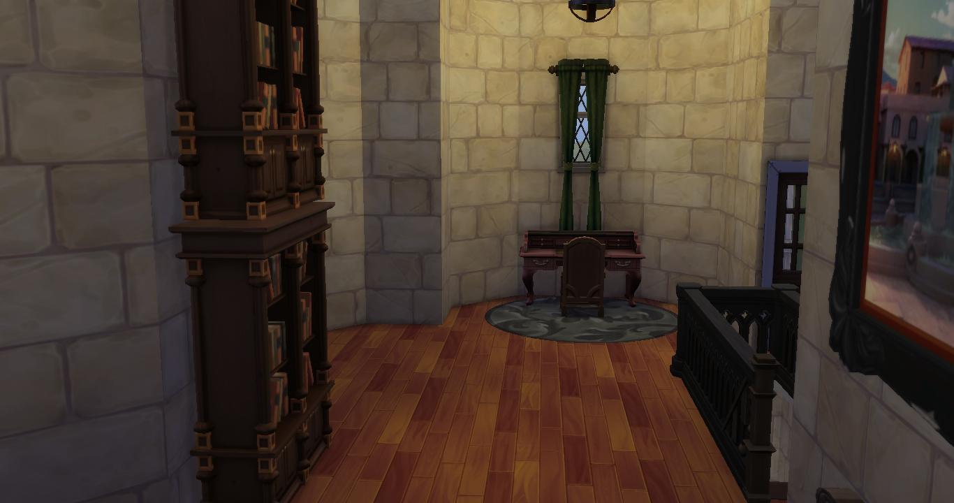 Hogwarts The Sims 4 ปราสาทฮอกวอตส์ The Sims 4