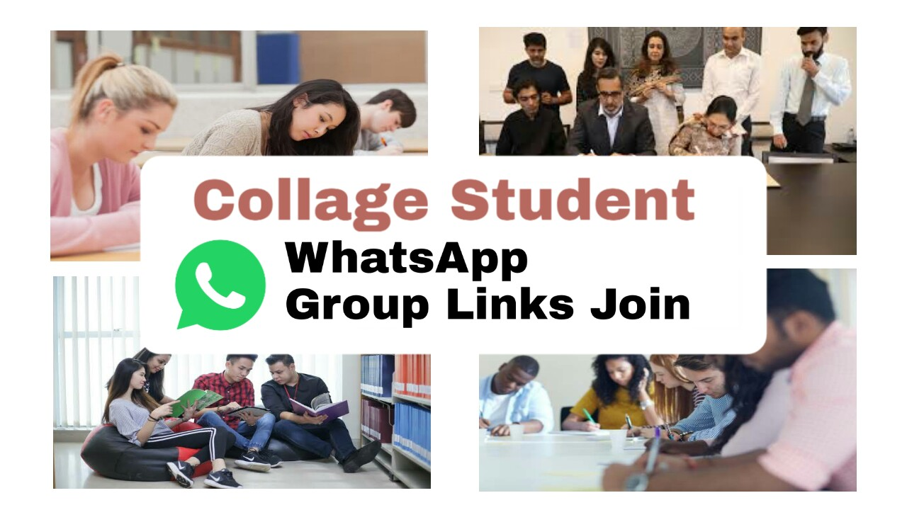 Join College Whatsapp Group Link, Find College Get Degree - Group Links
