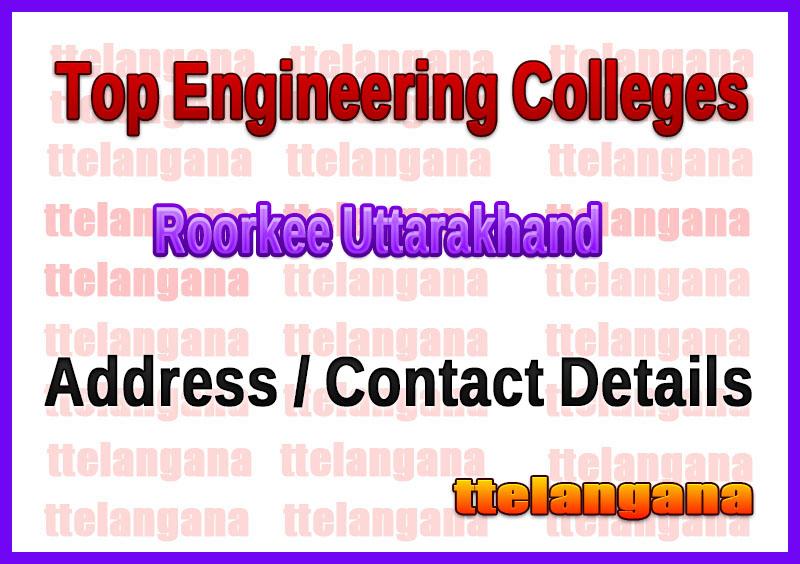 Top Engineering Colleges in Roorkee Uttarakhand