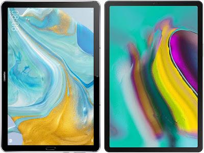Huawei MediaPad M6 vs Samsung Galaxy Tab S5e 10.5