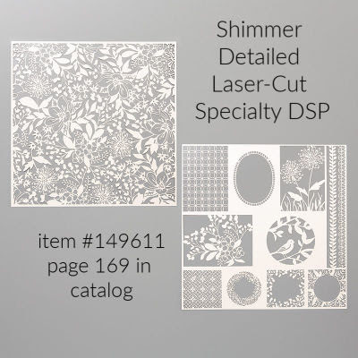 Shimmer Detailed Laser-Cut Specialty Designer Series Paper from Stampin' Up!