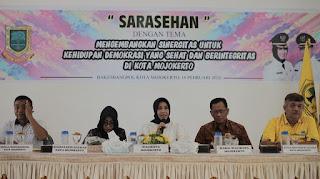 Silaturahmi ke Partai, Walikota : Mempererat Komunikasi dan Sinergitas