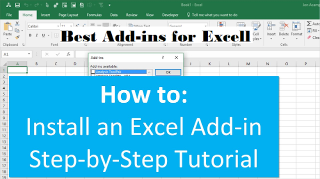 Top 10 free Excell add ins for office 360 tips and tricks 2020