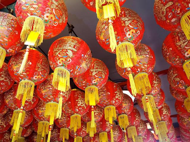 Chinese lanterns, Penang, Malaysia