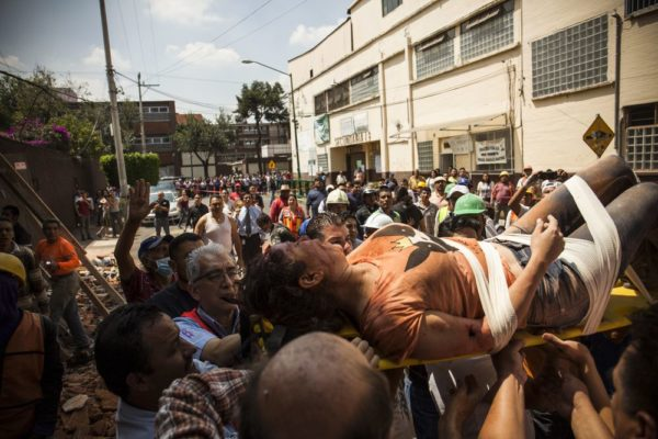 217 people died in Aftermath of Mexico earthquake