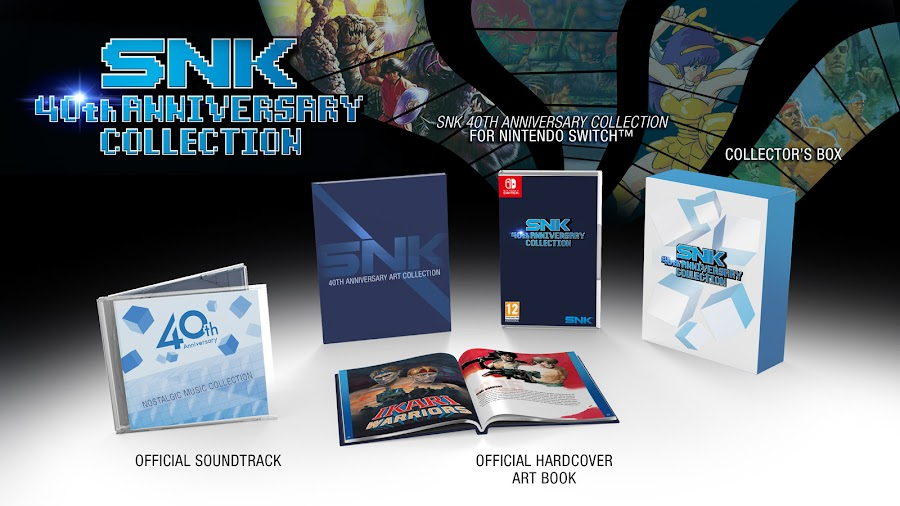 snk 40th anniversary collection collector edition