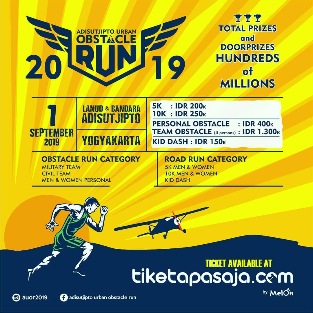 Adisutjipto Urban Obstacle Run • 2019