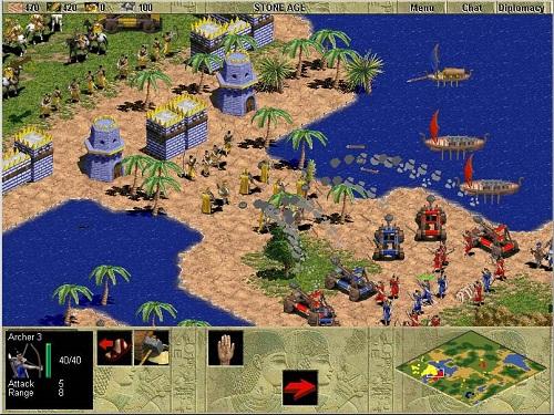 Trông qua có thể đơn giản, nhưng để chắc là hiểu rõ với vận dụng thuần thục các chiến thuật chỉ trong Age of Empires là điều không dễ 1 chút nào