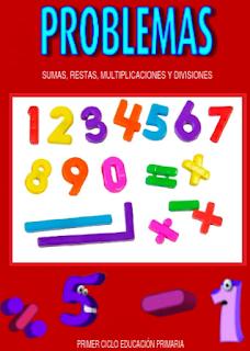 Problemas Suma, Resta, División y Multiplicación primer ciclo educación primaria