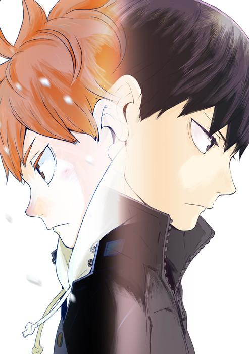 Imagen promocional de la cuarta temporada del anime Haikyu!!