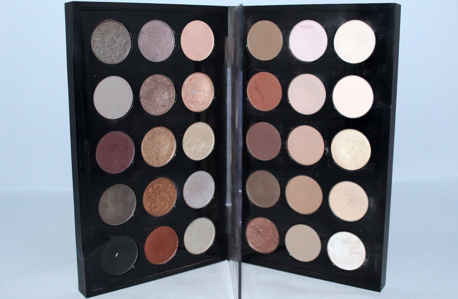 Mis paletas de sombras MAC