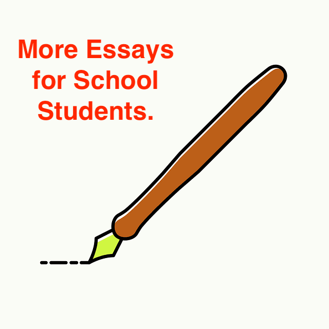 School Essay for Students.