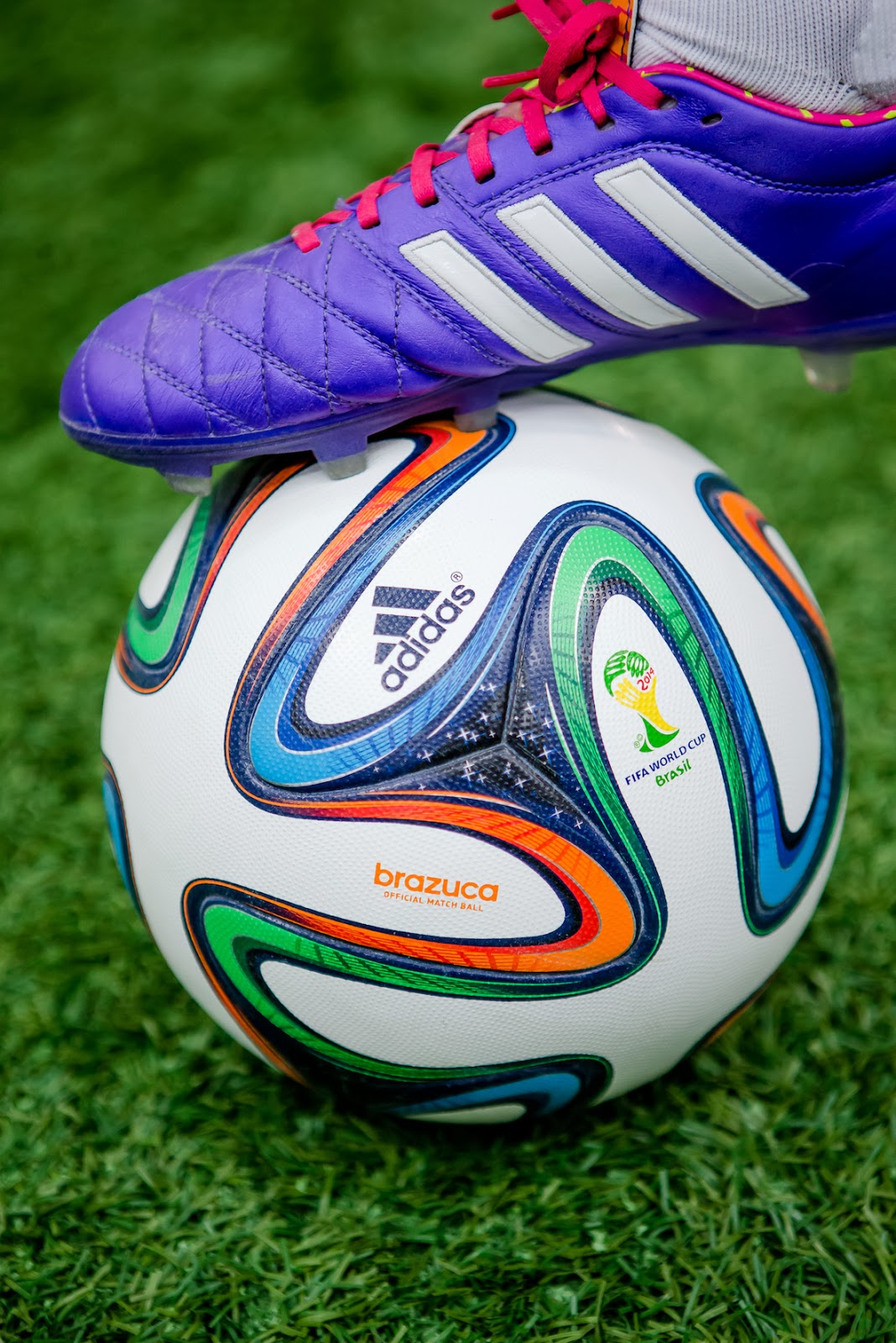 competitive price 91149 11f45 oOn 4th December 2013 adidas unveiled brazuca, the official 2014 FIFA World  Cup Brazil™ match ball. The ball was revealed with a spectacular 3D light  ...