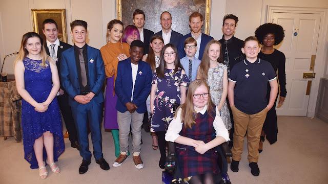 Książę William i Harry na wydarzeniu Radio1 Teen Heroes 2017 w Pałacu Kensington