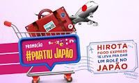 Promoção Partiu Japão Hirota Food Express