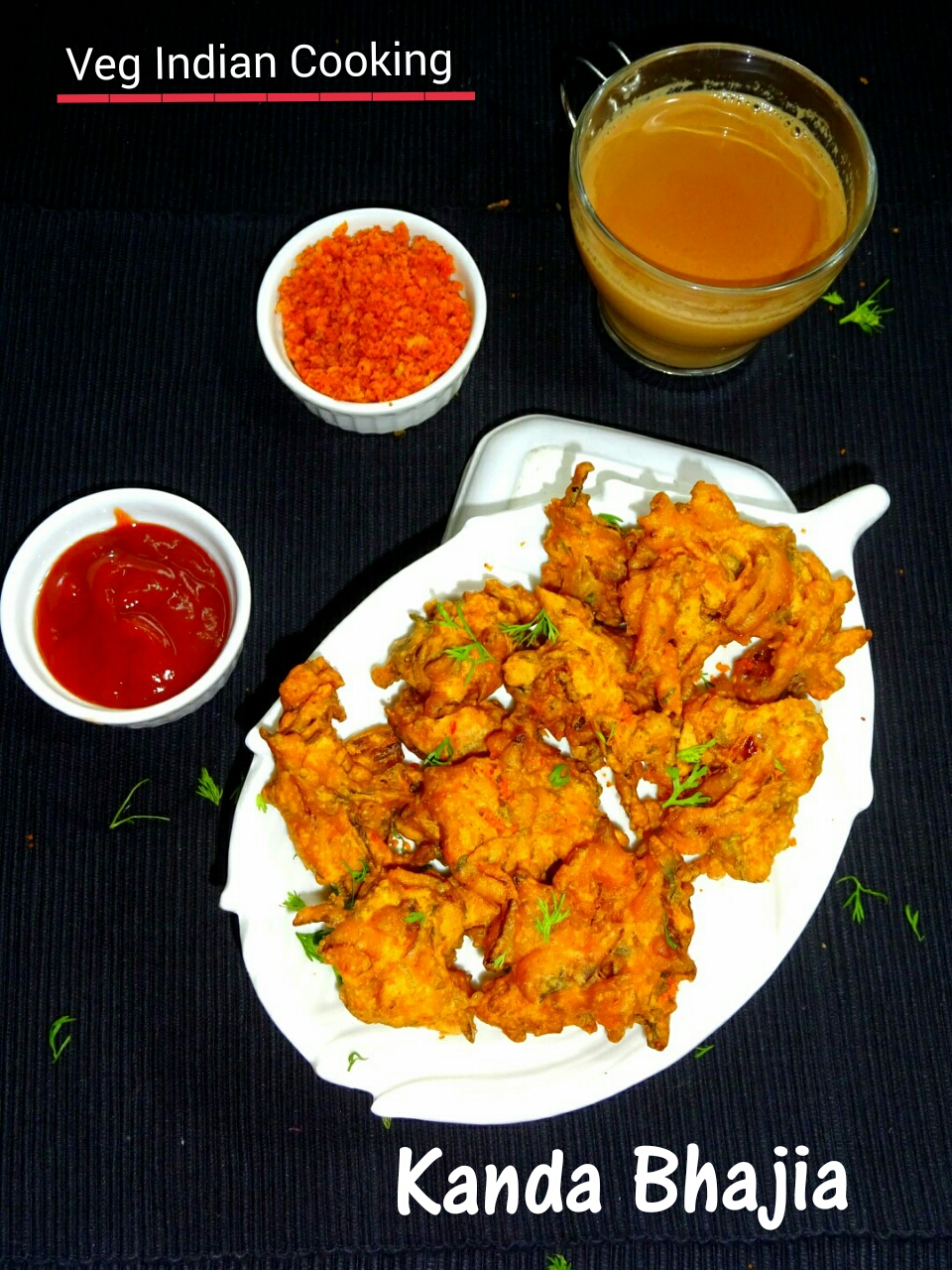 Onion Pakora | Crispy Pyaaz Ke Pakoda | Kanda Bhaji | Onion Fritters ...