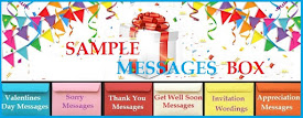 Free Sample Messages & Wishes