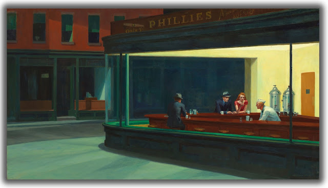 Blue Bar - E. Hopper