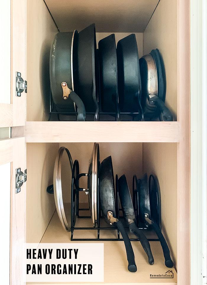 Heavy duty pan rack