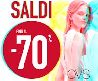 Logo OVS : imperdibili Saldi fino al 70% e prezzi davvero piccolissimi!