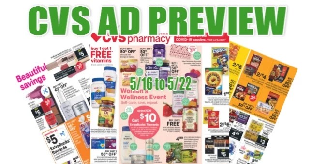 CVS Ad Scan 5-16 to 5-22