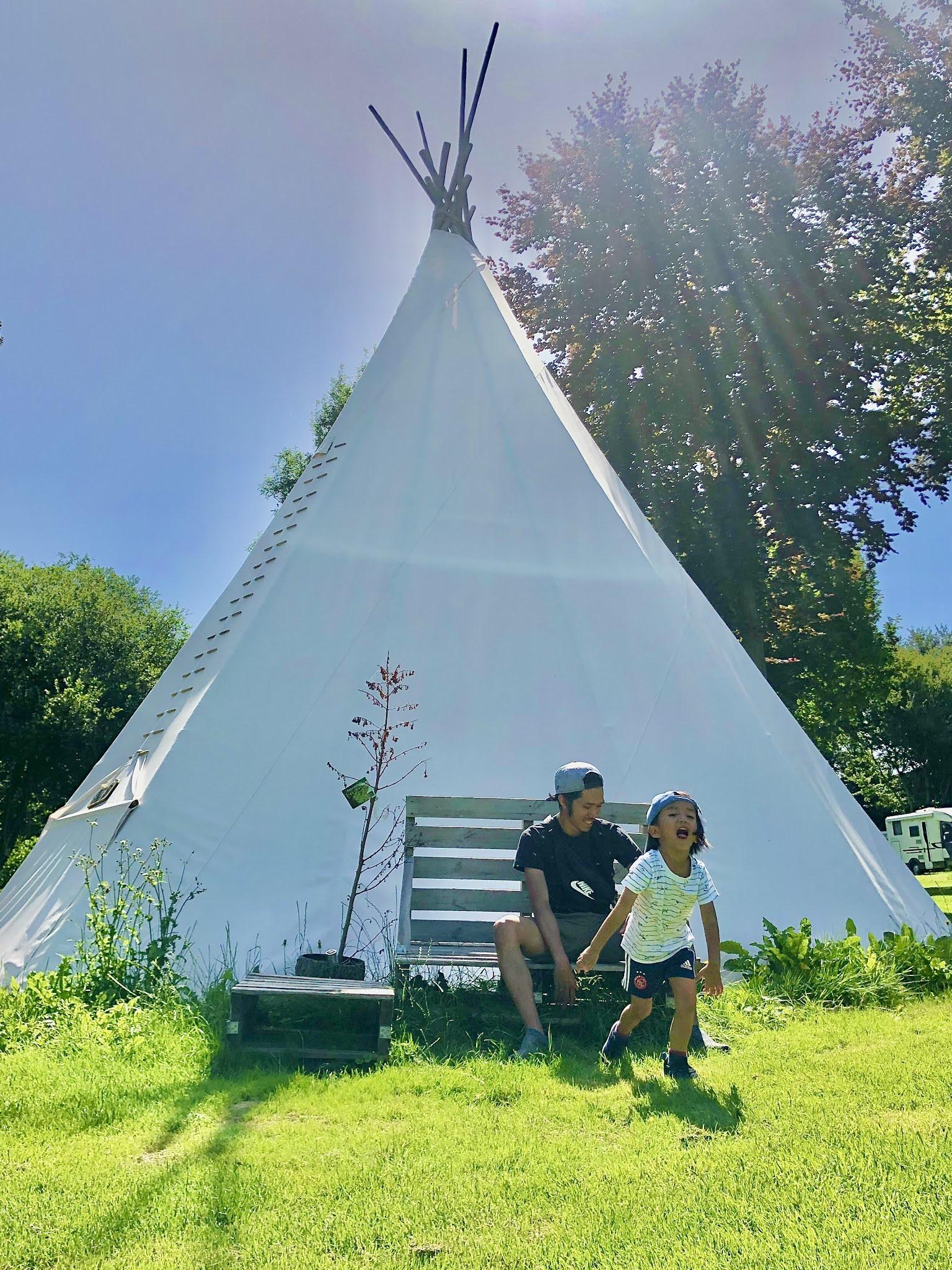 Be Carol Natuurcamping de Kemphaan Almere Summer Camping